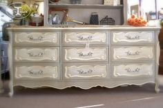 French Provincial Bedroom Furniture Redo                                                                                                                                                     More