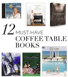 While browsingPinterest is one of our favorite ways to get inspired, there's still nothing better than sitting down with a stack of our favorite coffee table books. Whether the focus is on fashion or celebrities,traveling or…