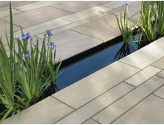 Why You Should Invest In Simple Water Features For Your Home Garden – Pool Landscape Ideas Garden Paving, Garden Pool, Water Garden, Garden Tiles, Small Gardens, Back Gardens, Outdoor Gardens, Contemporary Garden Design, Landscape Design