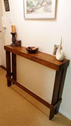 Recycling - re-using old pallets for pieces in your home. Looks great!