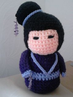 geisha - crochet