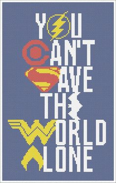 #70 BOGO Free! Justice League BATMAN SUPERMAN Wonder Woman Aquaman Cyborg The Flash Logo cross stitch pattern pdf pattern instant download For your consideration is a beautiful counted cross stitch pattern/chart as shown in the picture. Pattern Details: This pattern is in PDF