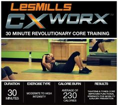 Honored to be a part of Les Mills! #CXWORX rock my socks off :)