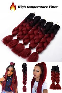 7 Best Braids Premium Original Ultra Braid Kanekalon Jumbo Twist Braids Synthetic Crochet Hair Extension Ideas Crochet Hair Extensions Twist Braids Braids