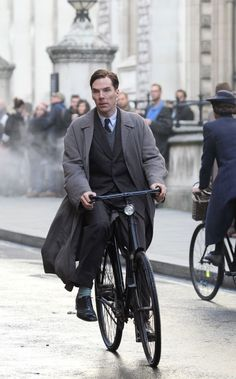 Benedict Cumberbatch in 'The Imitation Game' (2014), and might I add, this is a bloody brilliant movie!