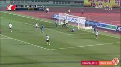 2014 K리그 챌린지 플레이오프 안산경찰청 vs 광주FC