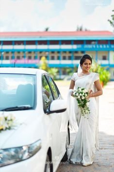Drita photography is the best photography company with top professional candid wedding photographers,leading cinematographers based in Kerala,Kochi,Ernakulam. Christian Wedding Dress, Christian Bridal Saree, Christian Weddings, Christian Bride, White Saree Wedding, Indian Wedding Flowers, Indian Wedding Outfits, White Bridal, Wedding Stills
