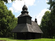 This small Greek Catholic wooden church is found in the tiny village of Ruská Bystrá, located in a remote region of eastern Slovakia a few kilometres from the Ukrainian border.