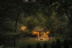 Candlewood Cabins // The Glass House