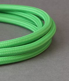 FABRIC CABLE for LIGHTING | Zesty Green