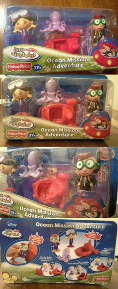 Little Einsteins 158766: Disney Little Einsteins Ocean Mission Adventure Playset Figures -> BUY IT NOW ONLY: $109.99 on eBay!