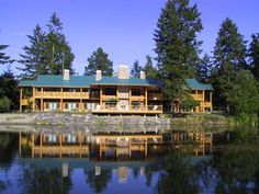 Lakedale Resort at Three Lakes Friday Harbor (Washington) Accessible by ferry or floatplane from Seattle, this resort is located on 82 acres between Roche Harbor and Friday Harbor on San Juan Island, Washington. Free Wi-Fi is available in the main lodge.