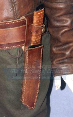 Zoe firefly costume- gun belt lft side