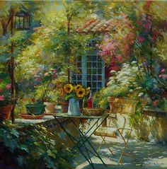I giardini fioriti di Johan Messely