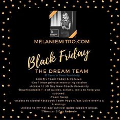 """In the spirit of Black FRIDAY I'm paying it forward and I have created a pretty killer special for you today ONLY!  Have you ever thought about making your fitness your business?  Starting your own GIG where you can create your own hours dictate your income based on your efforts and creating either stability comfort or all of the above in your life?  I didn't get into coaching because I thought it would make me """"RICH""""  I got into coaching because I love helping people & then I realized that…"""