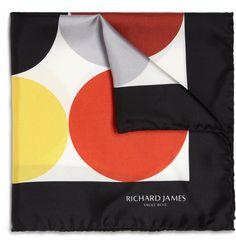 Richard James pocket square