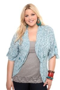 Plus Size; Oh, I love blue!