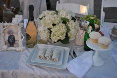 Our dinner Diner en Blanc