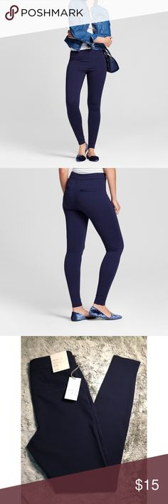 ✨Women's Ponte Pant- A New Day Navy✨ ⬆️Product Details in photos above⬆️  NEW WITH TAGS NEVER BEEN WORN A New Day Pants Skinny
