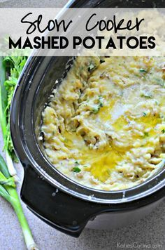 Slow Cooker Mashed Potatoes. Learn how to make the most delicious mashed potatoes using your slow cooker! This recipe is fail proof and only takes 4.5 hours from start to finish!