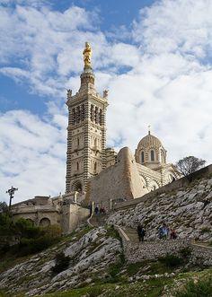 Notre Dame de la Garde - Marseille, Bouches-du-Rhône