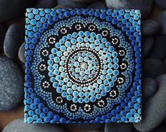 Australian Aboriginal Dot PaintingWater Design by RaechelSaunders