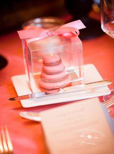 Wedding Planning & Design: Cynthia Martyn Fine Events / Macaron Mini Cakes: Cake Opera Co.