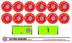 Artes para Botão: FC Bayern Munchen