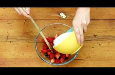 WATCH: She Puts Sugar And Berries In A Bowl And Microwaves Them. The End Result Is Brilliant