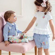 New SS 2017 Collection by @alettakids  #minitrendsandco #fashionkids #fashionkidstrends #modabambini #kidsfashion #ss2017
