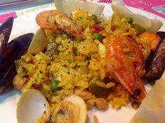 Paella Mixta / Spanish Gastronomy | Belén RU