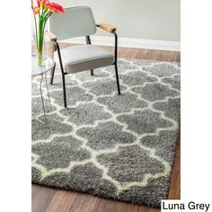 nuLOOM Rug Moroccan Trellis Shag Rug (5'3 x 7'6) - Overstock™ Shopping - Great Deals on Nuloom 5x8 - 6x9 Rugs