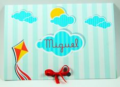 Convite Infantil Menino - Tema Pipas