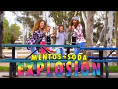 Mento's And Soda Explosion! (Haschak Sisters)
