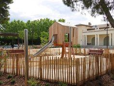 Pine Walk Playground- Calvisson, France- ESKIS Landscape architects + CoO Architects