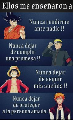 Dragon ball - Naruto shippuden - One piece - Bleach