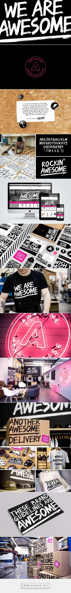 Awesome Custom Merchandise Factory Branding by Robot Food | Fivestar Branding Agency – Design and Branding Agency & Curated Inspiration Gallery