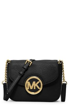 Free shipping and returns on MICHAEL Michael Kors 'Small Fulton' Crossbody Bag at Nordstrom.com. A sleek monogram medallion shines against the color-pop leather of a compact crossbody perfectly sized for everyday ease.