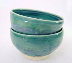Set of Two Beautiful Wheel Thrown Pottery Tea by PotterybyJolene