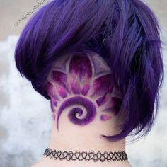 Lovee colouring undercuts ❤ . . . For all hair appointments with me check in with @cherrybomb_hair Or send me a dm . . . . .#cherrybomb #cherrybombhair #fitzroyhair #manicpanic #bobcut #modernsalon #pravanaaustralia #buzzcutfeed #melbournehair #melbourne #melbournestylist #hotonbeauty #geometric #americansalon #australiahair #collingwood #purplehair #rainbowhair #hairtattoo #undercut #behindthechair