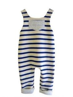 French, of course.  This is the perfect romper style to use for repurposing sweaters!
