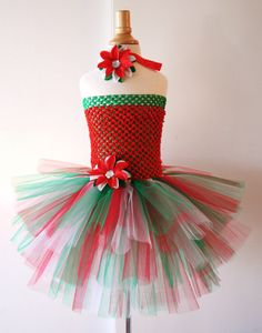 12 best Christmas Tutu Dress images on Pinterest | Christmas tutu ...