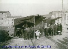 Churreria en Paseo de Zorrilla