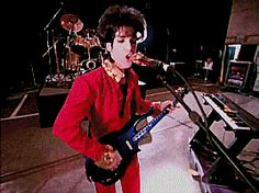 """""""Here she come, dressed in red. Get her done, is all that's in my head,"""" Prince, Peach (1993)"""