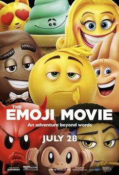 THE EMOJI MOVIE |Sevimli Emojiler'i 22.8.2017'de izledik