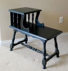 how to refinish furniture with spray paint by christine
