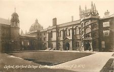 s09342 Hertford College, Oxford, Oxfordshire, England postcard unposted