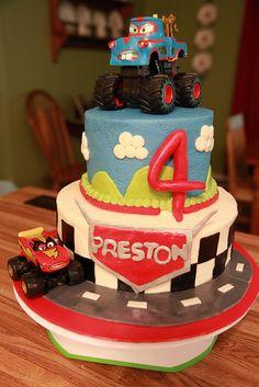 Cars Cake Inspiration?!?!?!