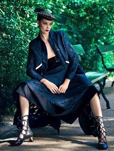 Diana Moldovan for Stylist Magazine France September 2015