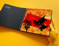 """Check out new work on my @Behance portfolio: """"Autumn watercolour"""" http://on.be.net/1Wb6V3E"""